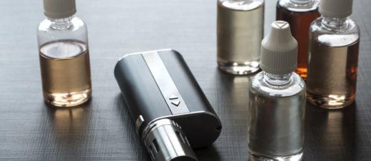 un e-liquide